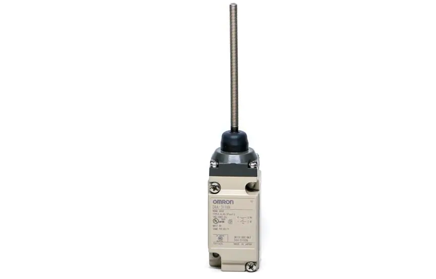 Omron D4A-[]N Omron _ The Limit Switch with Better Seal, Shock Resistance, and Strength