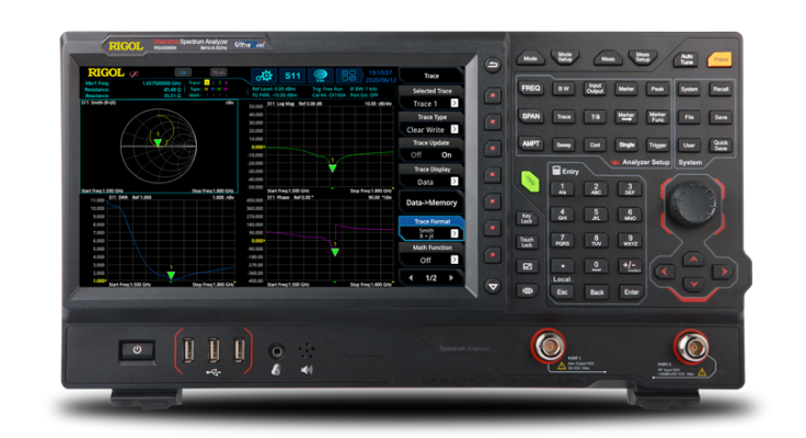 Rigol RSA5000 Series Real-time Spectrum Analyzer / Vector Network Analyzer