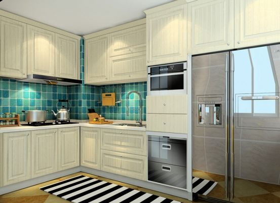 Kitchen Cabinet 3D Drawing Refer