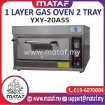 1 Layer Gas Oven 2 Tray YXY-20ASS