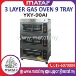 3 Layer Gas Oven 9 Tray YXY-90AI