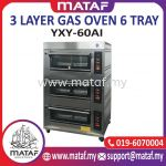 3 Layer Gas Oven 6 Tray YXY-60AI