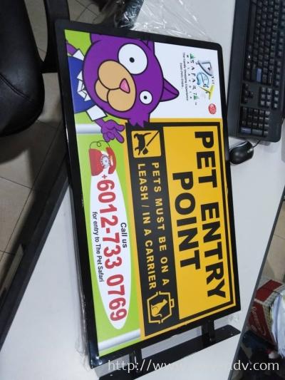 THE PET SAFARI Inkjet Sticker