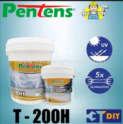 pentens t200 waterproofing grey