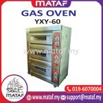 3 Layer Gas Oven 6 Tray YXY-60