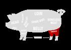 HINDLEG Pork Cuts