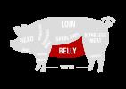 BELLY Pork Cuts