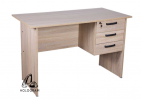 WRITING TABLE WITH RIGHT SIDE FIXED PEDESTAL HOL-1260BR Others