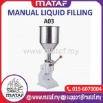 MATAF A03 Manual Paste Filling Machine 5~50ml