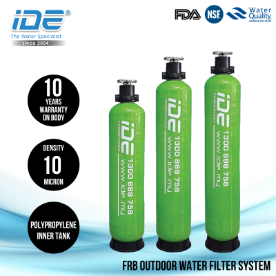 IDE FRB Sand Media Outdoor Water Filter