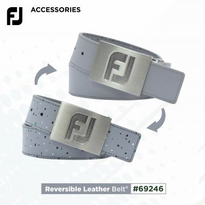 FJ REVERSIBLE LEATHER GOLF BELT CASUAL STYLE MODEL 69246