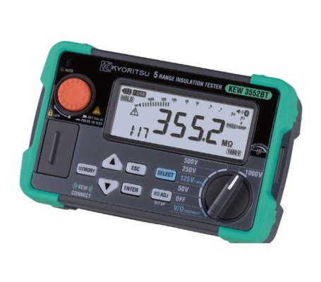 KYORITSU KEW3552BT Digital Insulation/Continuity Testers