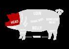 HEAD Pork Cuts