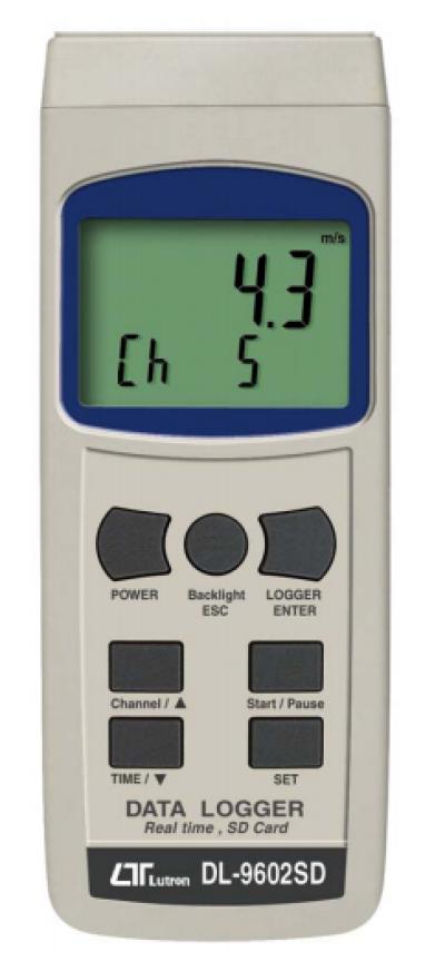 LUTRON DL-9602SD SD Card Real Time Data Logger