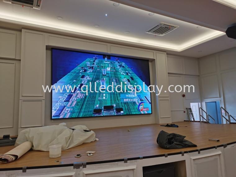 Cathay Restaurant @Kulai Restaurant / Ballroom LED Display Screen
