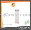 DORETTI DFPP029SS PUSH PLATE SUS 304 STAINLESS STEEL Door Access Accessories DOOR ACCESS