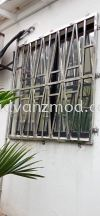 304 Stainless Steel Window Grille Stainless Steel Grille