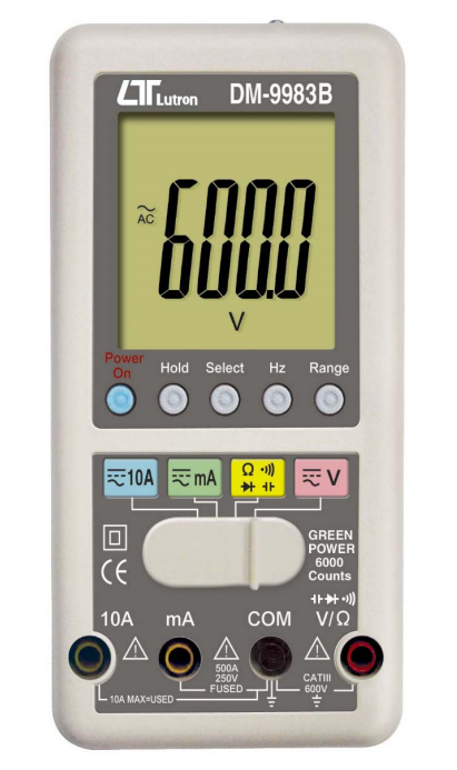 LUTRON DM-9983B Smart Multimeter