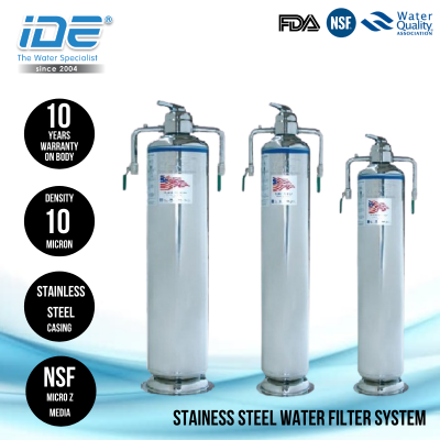 DS High Quality Stainless Steel Water Filtration System