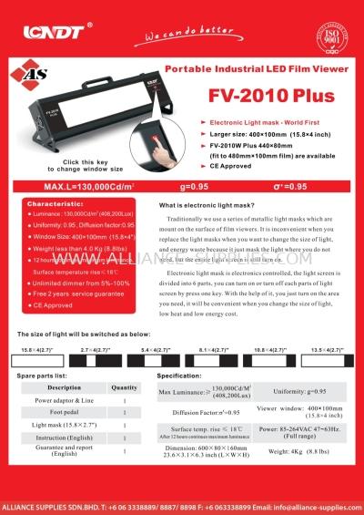Portable Industrial LED Film Viewer FV-2010 Plus
