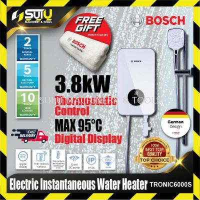 BOSCH TRONIC 6000S / TR6000S Electric Instantaneous Water Heater