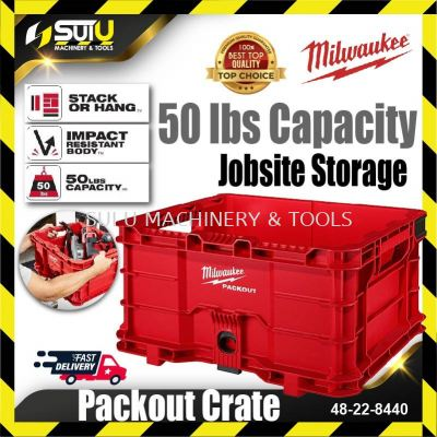 MILWAUKEE 48-22-8440 PACKOUT™ Crate 50 lbs Capacity