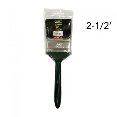 "EX  Z  2-1/2"" 680A NYLON HAIR PAINT BRUSH - 00195DD"
