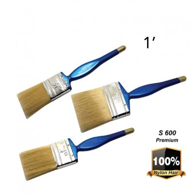 "EX    1""   S600   NYLON HAIR~P/ BRUSH - 00196A"
