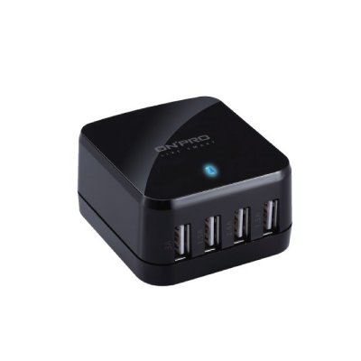 UC-HS68W Total 6.8A 4 Ports AC Charger Travel Universal Adapter