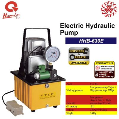 HUANHU Electric Hydraulic Pump HHB-630E