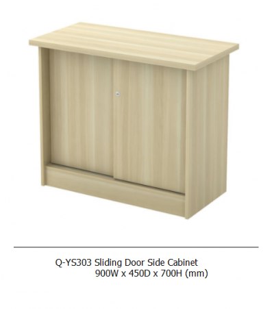 Q-YS303 Sliding Door Side Cabinet