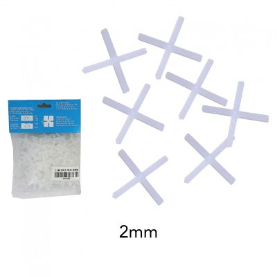 ^   2.0 MM  PVC CROSS TILES SPACER-200 +- - 00439E