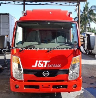 J&T Express (Malaysia) Sdn Bhd Cutting Sticker at Kuala Lumpur ,Selangor