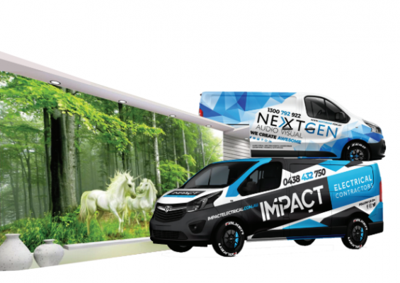 Wall Sticker & Car Wrapping