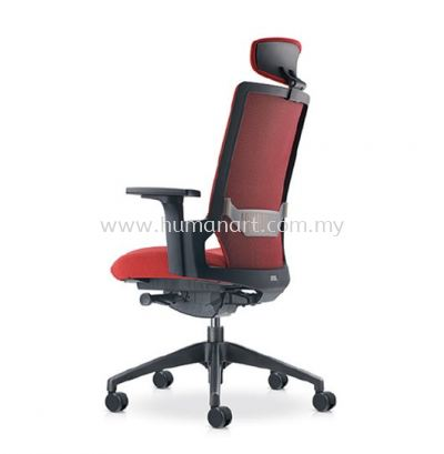 OTISY HIGH BACK ERGONOMIC SOFTECH CHAIR C/W ROCKET NYLON BASE AOT8810F-20D95
