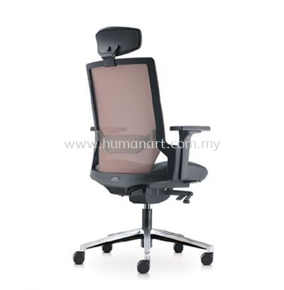 OTISY HIGH BACK ERGONOMIC MESH CHAIR C/W ALUMINIUM BASE AOT8810L-18D95