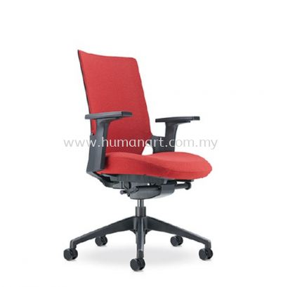 OTISY MEDIUM BACK ERGONOMIC SOFTECH CHAIR C/W ROCKET NYLON BASE AOT8811F-20D95