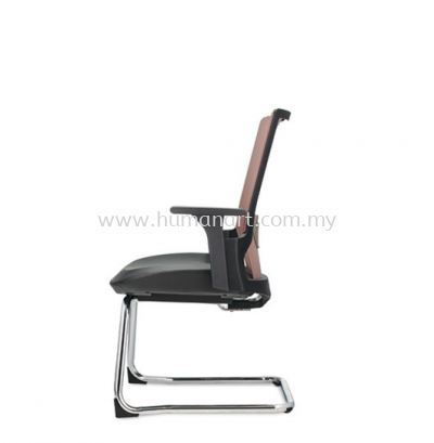 OTISY VISITOR ERGONOMIC MESH CHAIR C/W CHROME CANTILEVER BASE AOT8813L-92CA75