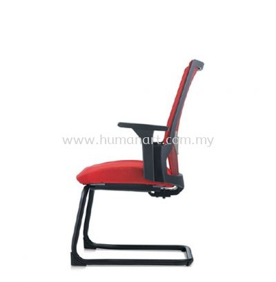 OTISY VISITOR ERGONOMIC SOFTECH CHAIR C/W EPOXY BLACK CANTILEVER BASE AOT8813F-92EA75