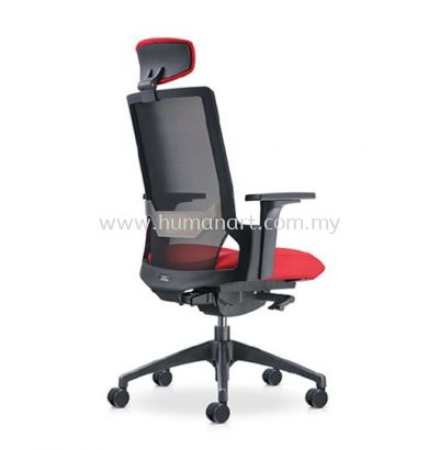 OTISY HIGH BACK ERGONOMIC MESH CHAIR C/W ROCKET NYLON BASE AOT8810N-20D95