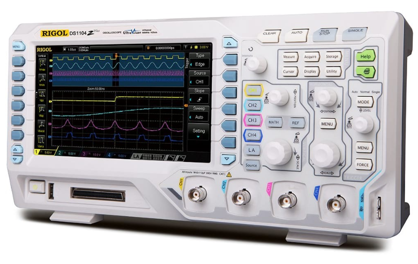 RIGOL DS1074Z-S PLUS 70MHz Digital Oscilloscope with 4 Channel and 16 Digital channels