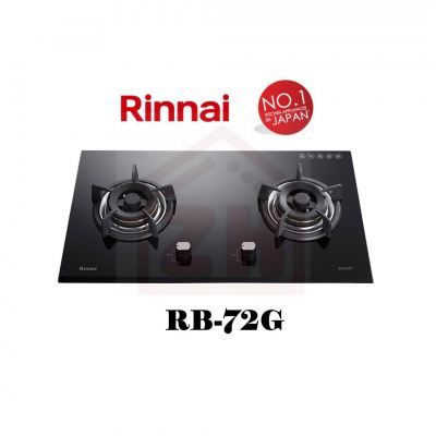 RINNAI 2 Burner Gas Cooker Hob RB-72G