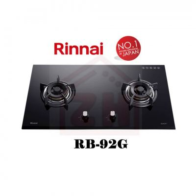 RINNAI 2 Burner Gas Cooker Hob RB-92G