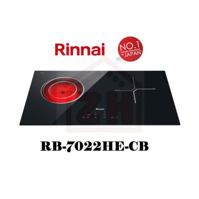 RINNAI 2 Burner Induction Hob RB-7022HE-CB
