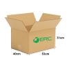 A007 - Large Size Carton Box (53cmLx40cmWx31cmH/Single-Wall) Large Size Carton Box Ready Made Boxes