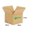A003 - Medium Size Carton Box (40cmLx40cmWx31cmH/Single-Wall) Medium Size Carton Box Ready Made Boxes