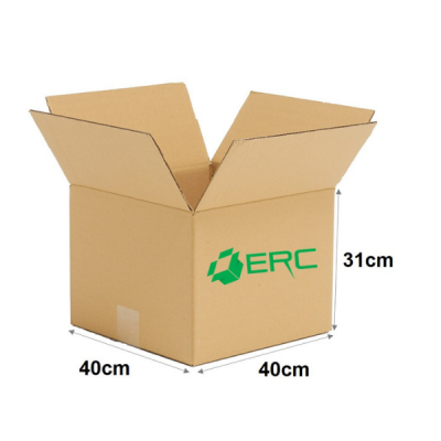 A003 - Medium Size Carton Box (40cmLx40cmWx31cmH/Single-Wall)
