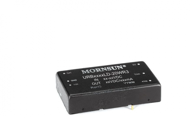 Mornsun Chassis-mounted DC/DC converter URBxxxxLD-20WR3 series