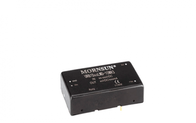 Mornsun Chassis-mounted DC/DC converter URB1D_LMD-10WR3