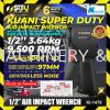 Kuani KI-1479 ½ SQ. DR. Super Duty Air Impact Wrench with 6pcs Dr Impact socket 14,17,19,21,22,24mm AIR IMPACT WRENCH KUANI Hand Tool